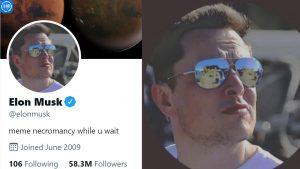 ایلان ماسک با تغییر عکس پروفایل خود در تأیید حمایت از دوج کوین، باعث جهش 1.250٪ حجم معاملات شد